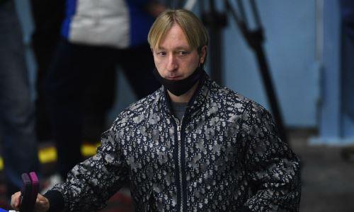 Плющенко согласился подраться с хореографом из группы тренера Турсынбаевой