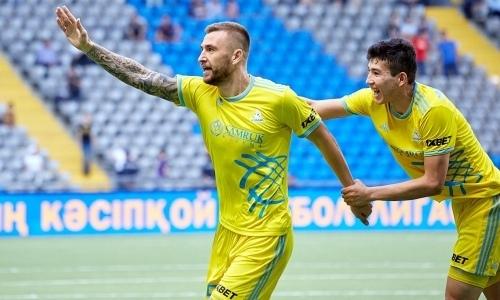 «Астана» объявила о расставании с форвардом сборной Казахстана