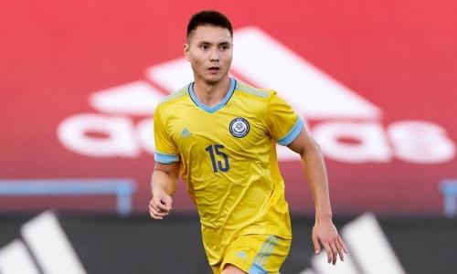Футболист молодежной сборной Казахстана находится на просмотре в европейском клубе