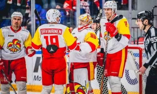 «Йокерит» перед «Барысом» победил на выезде «Спартак» в КХЛ