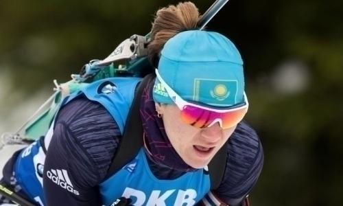 Казахстанские биатлонистки остались вне общего зачета эстафеты этапа Кубка Мира