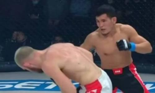 Видео боя, или как казахстанец Нуржан Акишев устроил рубку с бывшим бойцом UFC
