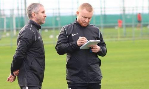 Клуб КПЛ провел свою первую тренировку под руководством нового тренера. Фото