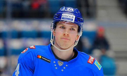«Так получилось». Хоккеист «Барыса» объяснил свое удаление и назвал залог победы над «Амуром»