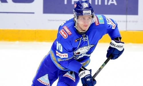 Хоккеист «Барыса» оформил хет-трик в матче КХЛ. Видео