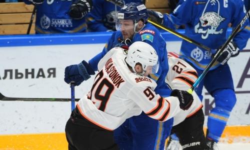 «Хозяева выстояли». КХЛ разобрала победу «Барыса» над «Амуром»