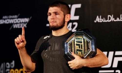 «Идем опережая график». Хабиб Нурмагомедов показал подготовку брата к бою с казахстанцем в UFC