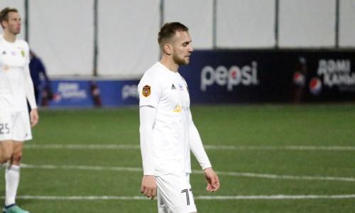 «Тобол» сообщил об уходе еще одного футболиста европейской сборной