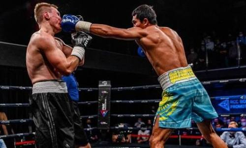 «Кулаки как баллистические ракеты». Непобежденный казахстанский боксер произвел впечатление в России
