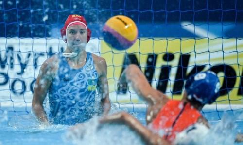 Казахстан уступил в первом матче отборочного турнира по водному поло в Италии
