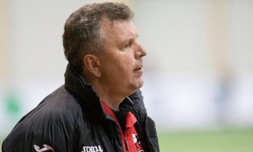 Казахстанский тренер провел первую тренировку со своей новой командой в Европе. Фото
