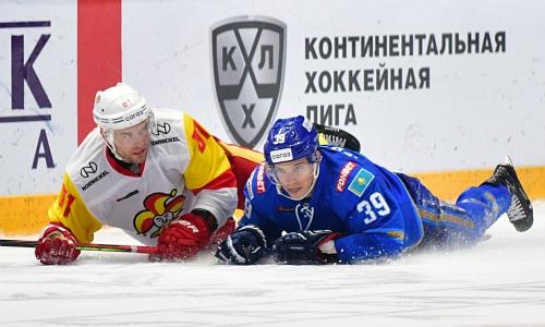 КХЛ отметила отличную игру «Барыса» против «Йокерита» в Финляндии