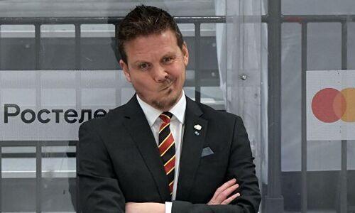 «Мы так не планировали». Главный тренер «Йокерита» прокомментировал поражение от «Барыса» в КХЛ