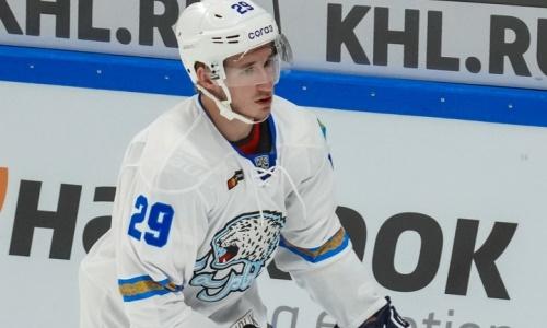 Хоккеиста «Барыса» назвали «лучшим шведом в КХЛ»