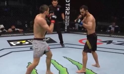 В одну калитку. UFC опубликовал статистику боя Морозов — Нурмагомедов