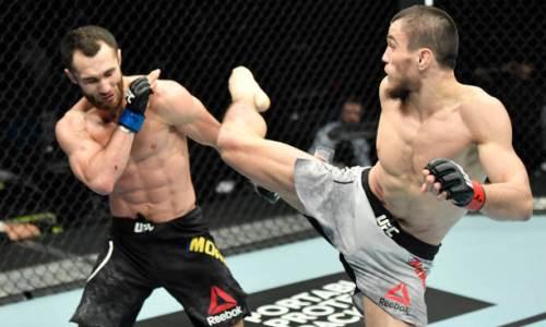 Стал известен гонорар Сергея Морозова за дебютный бой в UFC