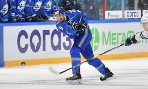 КХЛ назвала главного героя «Барыса» в победном матче с московским «Динамо»