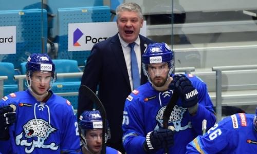 Главный тренер «Барыса» высказался о судействе и незасчитанной шайбе в ворота «Динамо»
