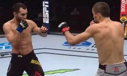 «План Сергея заключался в том, чтобы отбить ноги сопернику». Разбор дебютного боя Морозова в UFC от российского эксперта