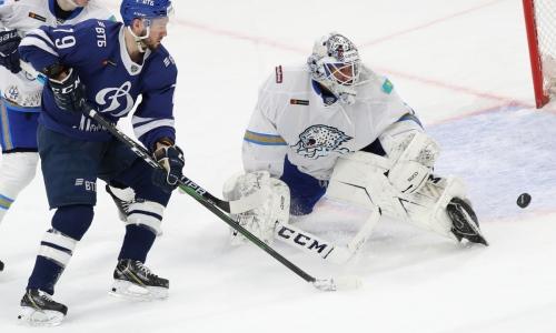 Хоккеист «Барыса» стал вторым лучшим игроком дня в КХЛ за матч против московского «Динамо»