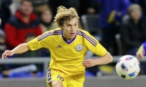 Игрок сборной Казахстана отдал голевую передачу в дебютном матче за клуб РПЛ. Видео