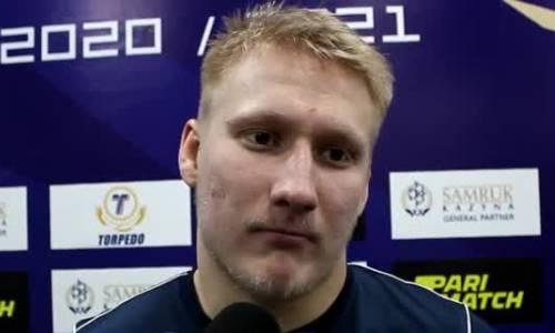 «Надо играть с первой минуты и до последней секунды». Хоккеисты дали оценку матчам «Алтай-Торпедо» — «Кулагер» 3:5