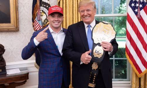 Дональд Трамп указал вфинансовом отчете стоимость чемпионского пояса UFC