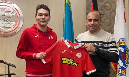 «Кайрат» подписал российского футзалиста с казахскими корнями