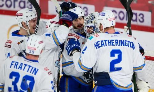 Крутейшая победа. «Барыс» трижды отыгрался и выиграл четвертый подряд матч КХЛ