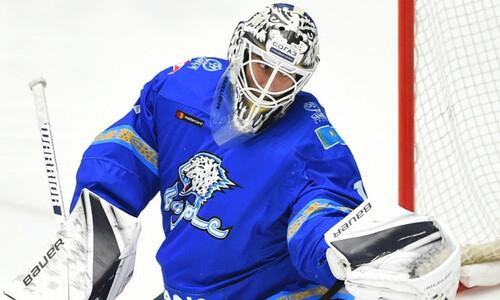 Хоккеист «Барыса» увенчал свой юбилейный матч в КХЛ невероятным камбэком над «Витязем»