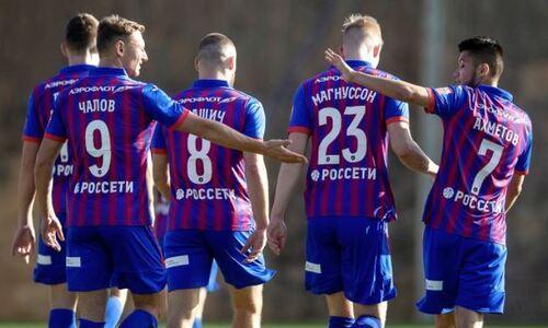 Зайнутдинов помог московскому ЦСКА выиграть первый матч года со счетом 7:0