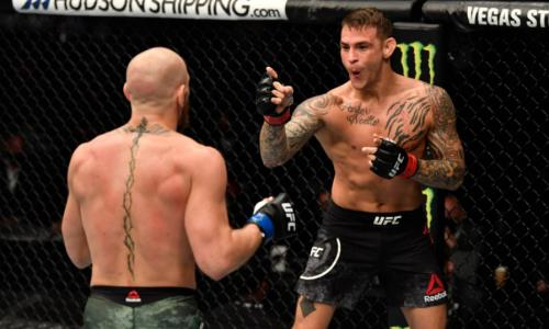 Видео полного боя Конор Макгрегор — Дастин Порье на UFC 257 с сенсационным нокаутом фаворита