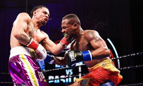 Бой за титул чемпиона WBA с четырьмя нокдаунами завершился ярким нокаутом. Видео