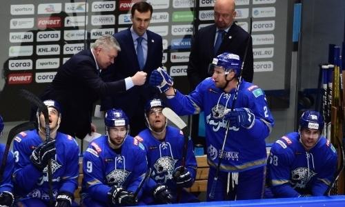«После этого все немного перевернулось». Хоккеист «Барыса» назвал переломный момент в сезоне КХЛ