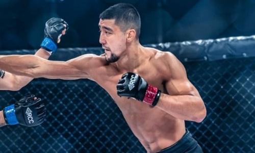 Анонсирован следующий бой казахского файтера на турнире ММА в России