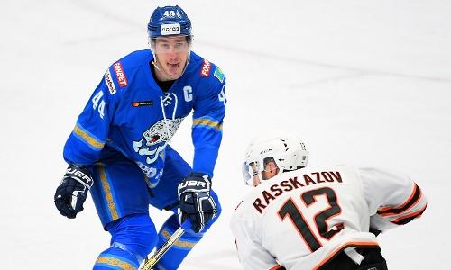 «Барыс» в КХЛ-2020/2021: не Дицем единым. Удивительный Карлссон, разящий Лилья, санкционный Волк