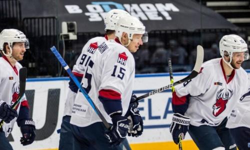 Конкурент «Барыса» за место в плей-офф КХЛ одержал выездную победу