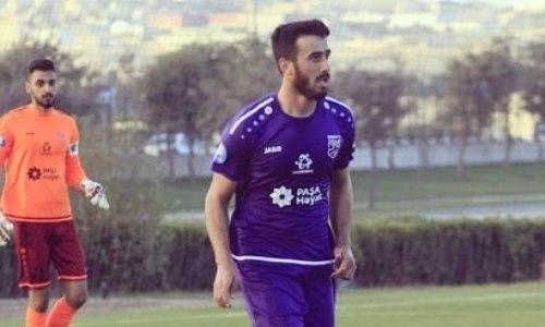 Вернувшийся из Европы казахстанский футболист тренируется в клубе КПЛ