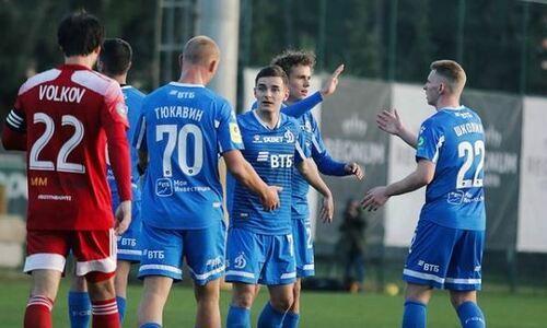 Клуб КПЛ дважды отыгрался и вырвал ничью в матче с московским «Динамо»
