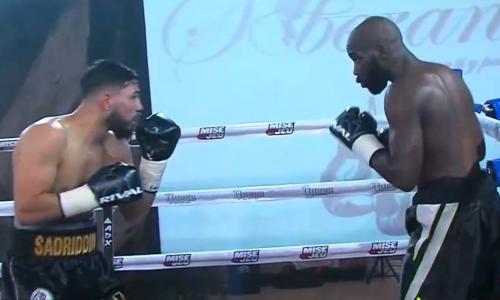 Видео боя, или Как Садриддин Ахмедов рубился за три титула