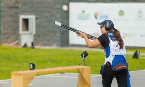 Казахстан завоевал «золото» на чемпионате Азии по стендовой стрельбе