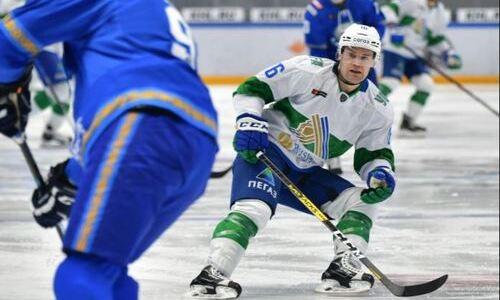 Хоккеист «Салавата Юлаева» выделил ключевой момент камбэка с «Барысом» и рассказал о победной шайбе