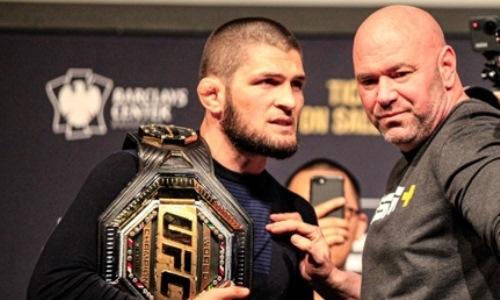Дана Уайт не считает Хабиба Нурмагомедова лучшим бойцом в истории UFC