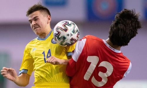 Весь стартовый состав сборной Казахстана, проигравшей со счетом 1:7 таджикам, состоял из игроков «Кайрата»