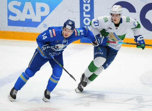 Фоторепортаж с матча КХЛ «Барыс» — «Салават Юлаев» 3:6