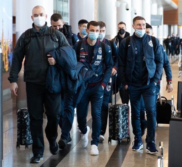 Зайнутдинов отправился с ЦСКА на зимний сбор в Испанию. Фото