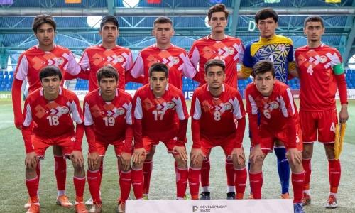 Сборная Таджикистана после разгромов команд Казахстана и Молдовы досрочно стала победителем «Кубка Развития»