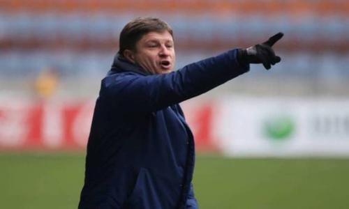 Озвучены новые подробности ситуации с контрактом главного тренера «Актобе»