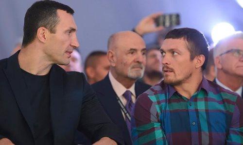 Александр Усик оценил вероятность возвращения Владимира Кличко в бокс