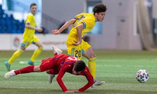 Представлена статистика матча «Кубка Развития» Молдова U-16 — Казахстан U-17 0:5